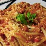 Pasta schotel met kip en ricotta