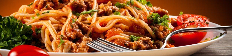 Spaghetti met tomaat